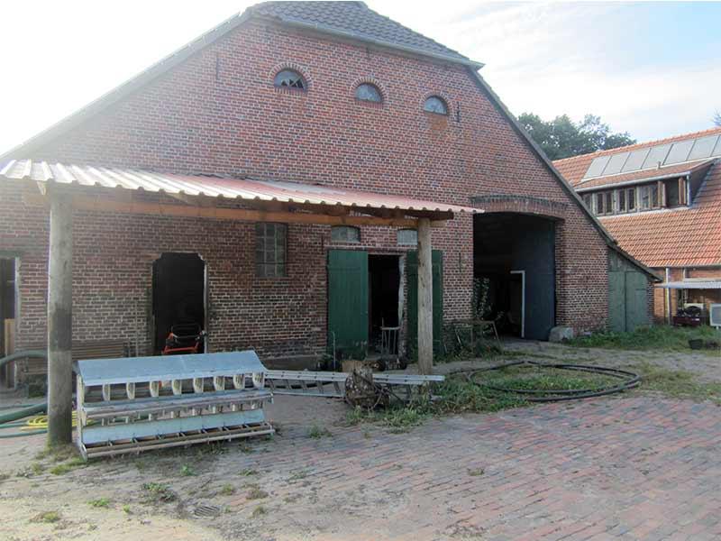 Der alte Kuhstall vor dem Umbau